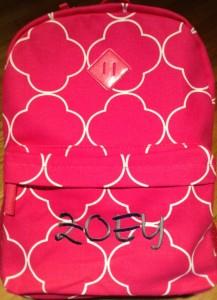Quatrefoil Backpack