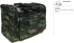 Camo Green Duffle Bag