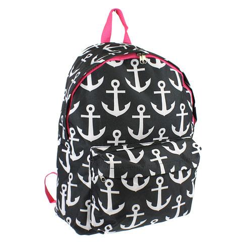 anchorbackpackblackfuchsia
