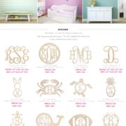 Wood Monogram Price List